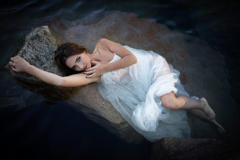 Beauty-Fotoshooting Wasser