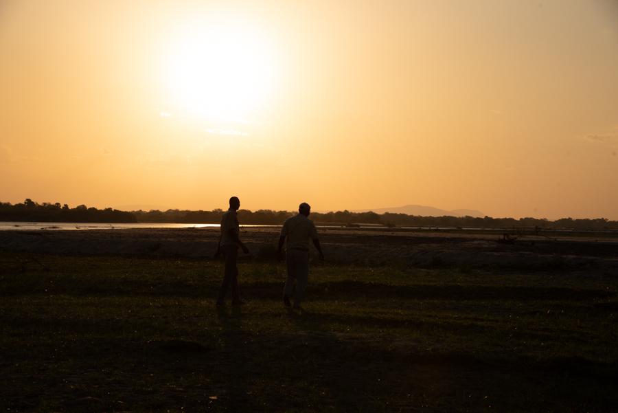 Sonnenuntergang Tanzania