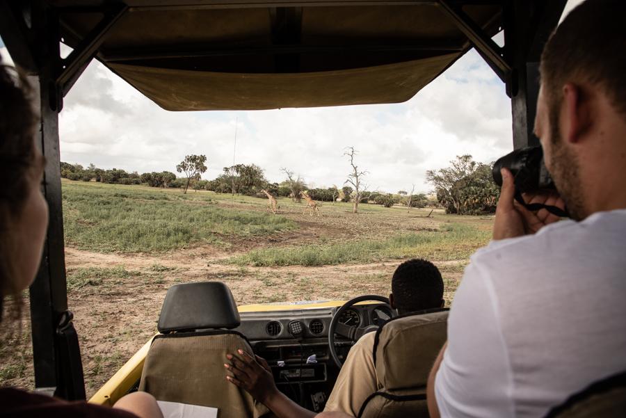 Jeep-Fahrt Tanzania