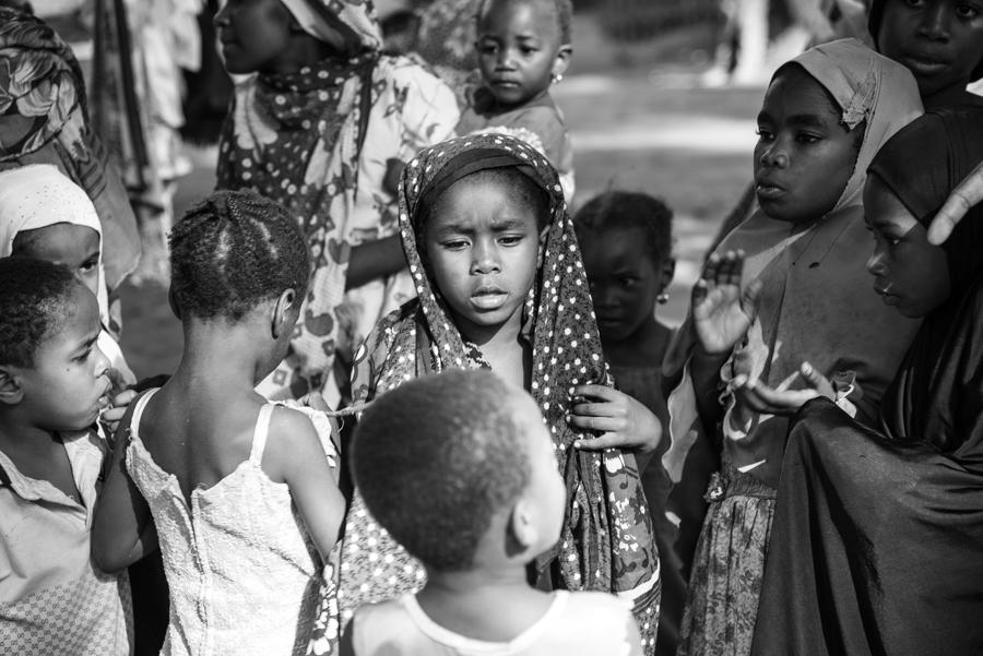 Kinder Dorf Tansania