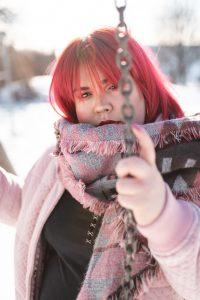 Portrait Fotoshooting Winter