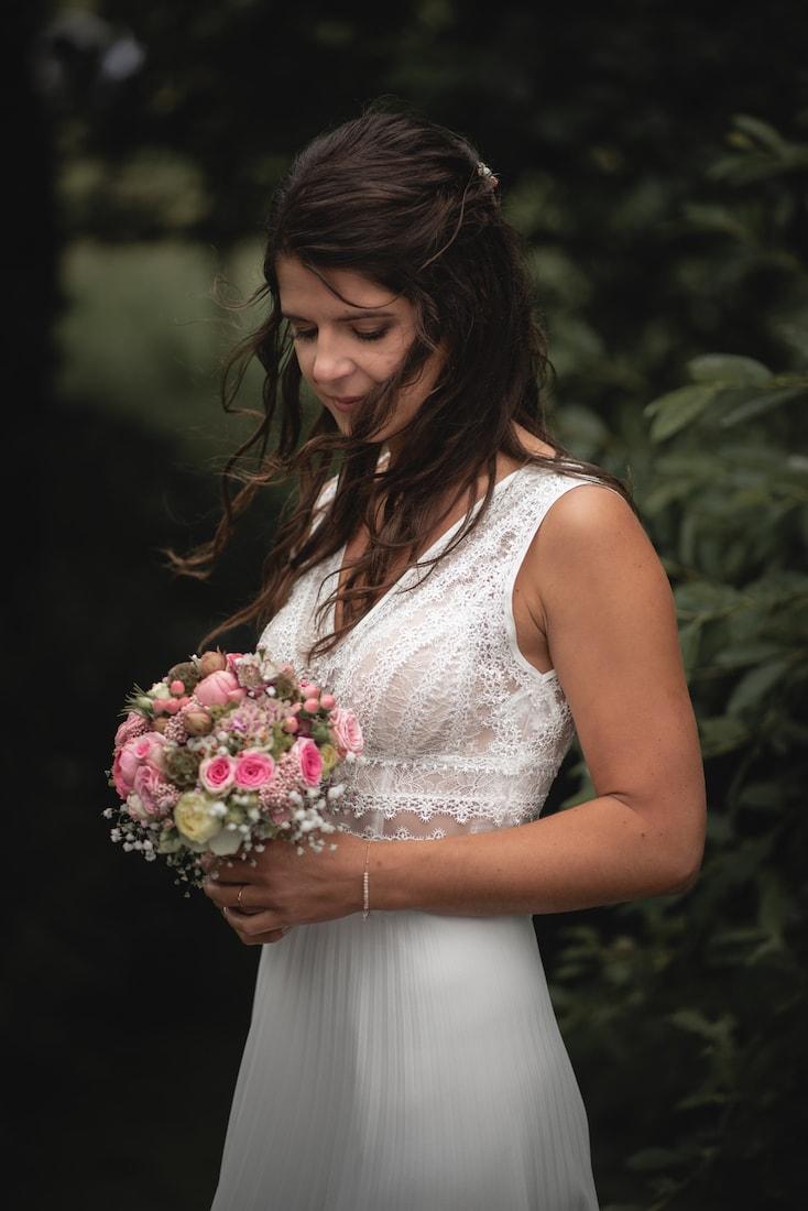 Foto Braut Hochzeit natürlich