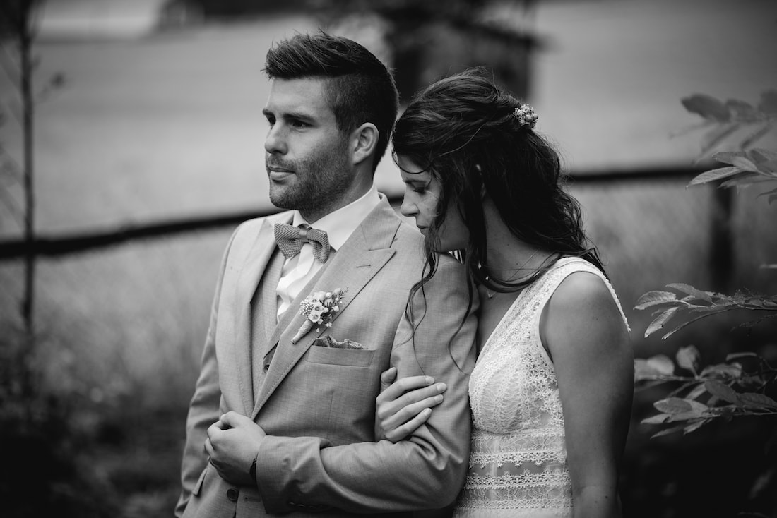 Hochzeitsfoto romantisch outdoor
