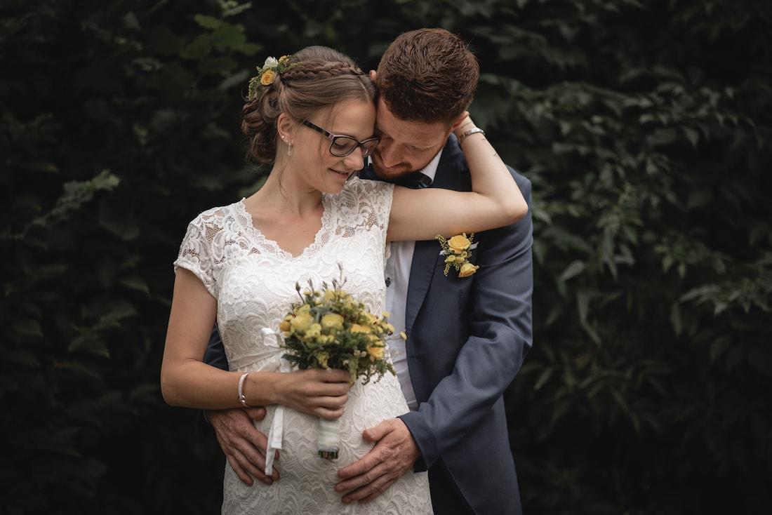 Paar Fotoshooting Brautpaar