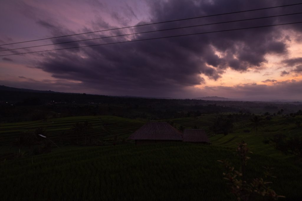Die Reisfelder von Jatiluwih sind einfach atemberaubend. Vor allem bei Sonnenaufgang.