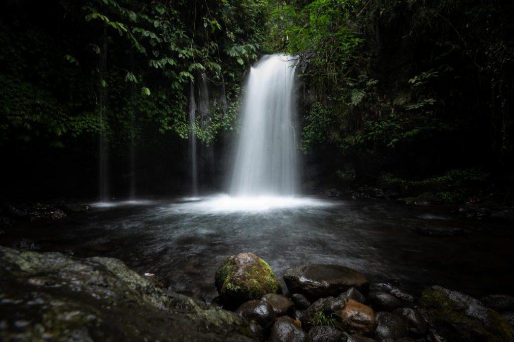 Wasserfälle gibt