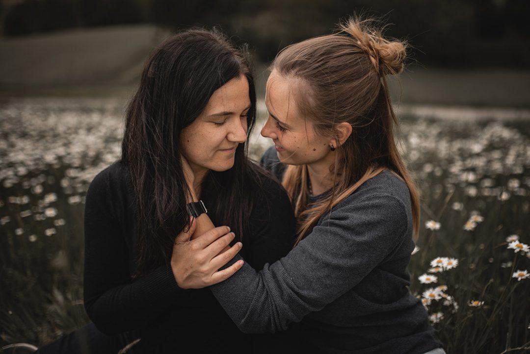 Paarshooting zwei Frauen