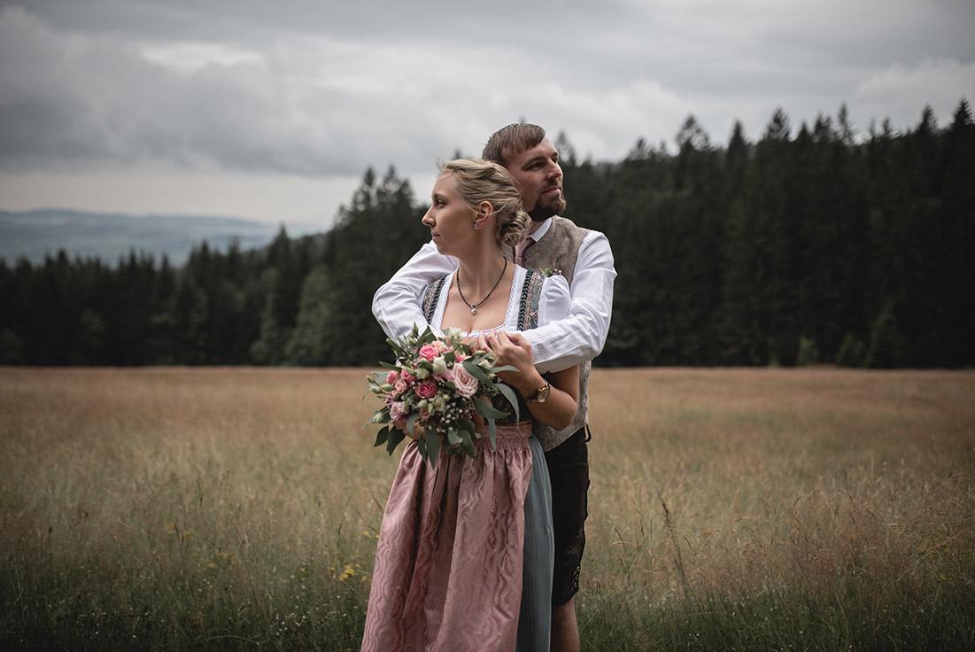 Brautpaarshooting Tracht