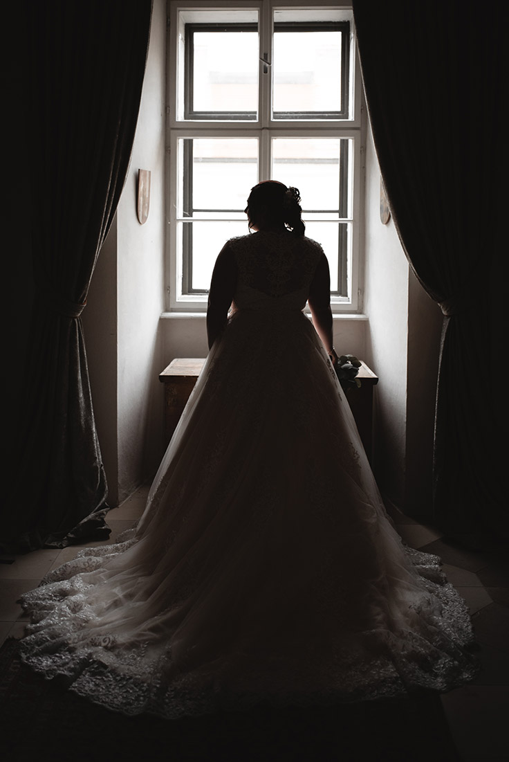 Braut Schloss Fotoshooting