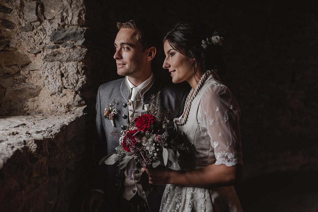 Hochzeitfoto Burg Piberstein