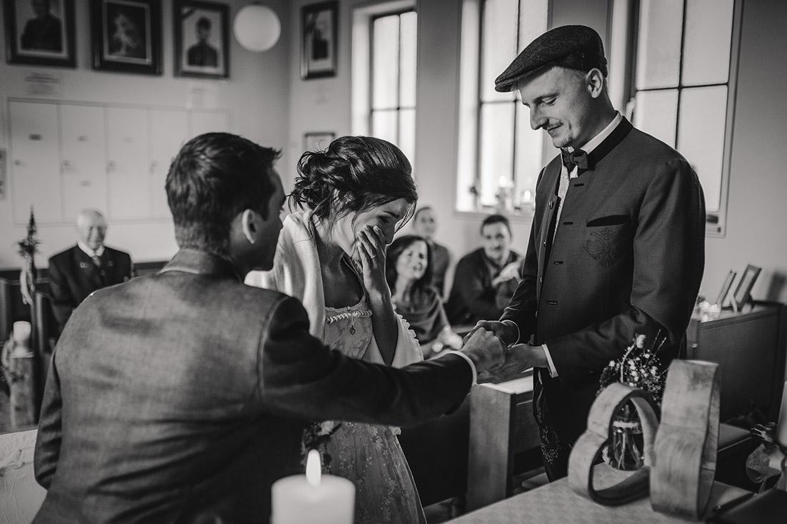 Ringübergabe emotional Hochzeit