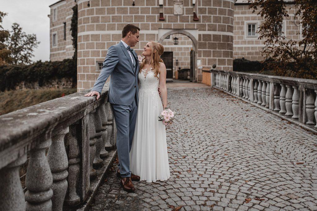 Fotoshooting Braupaar Schloss