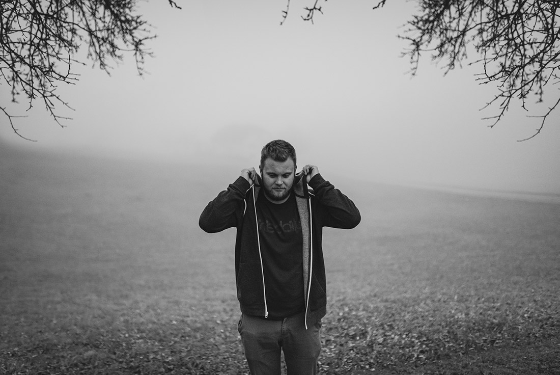 Portrait Outdoor Nebel