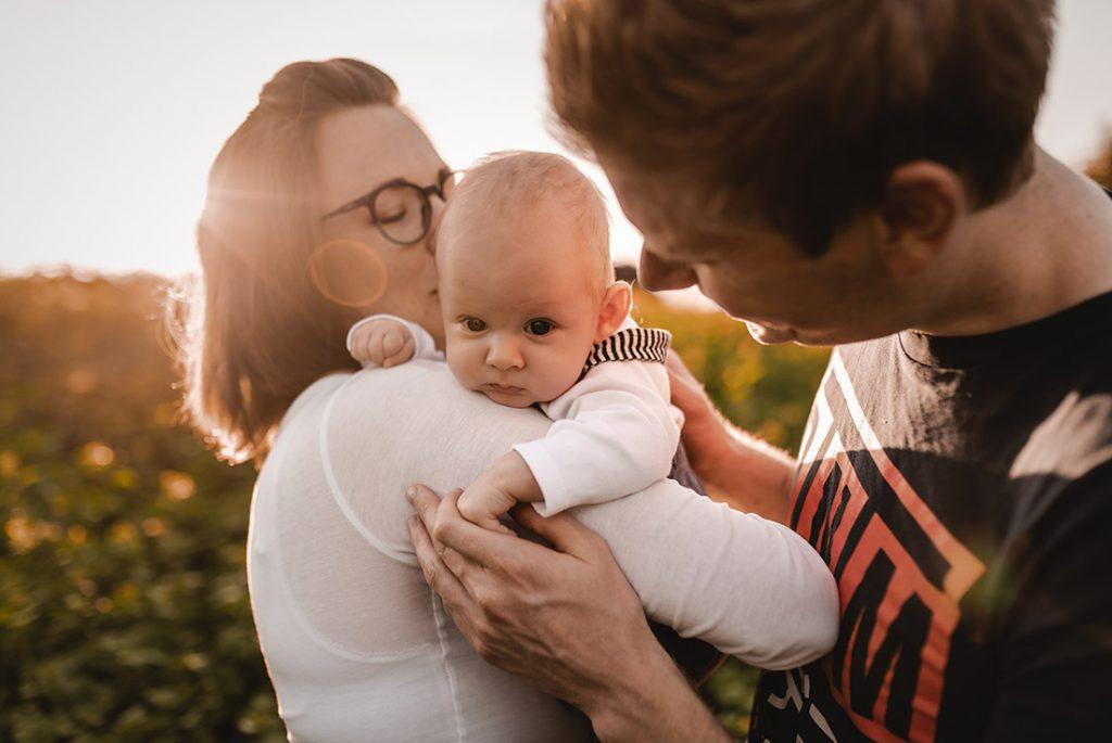 Neugeborenen Foto Outdoor