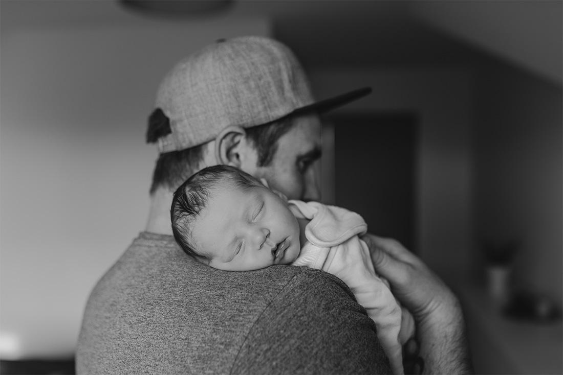 Newborn Foto-Shooting natürlich