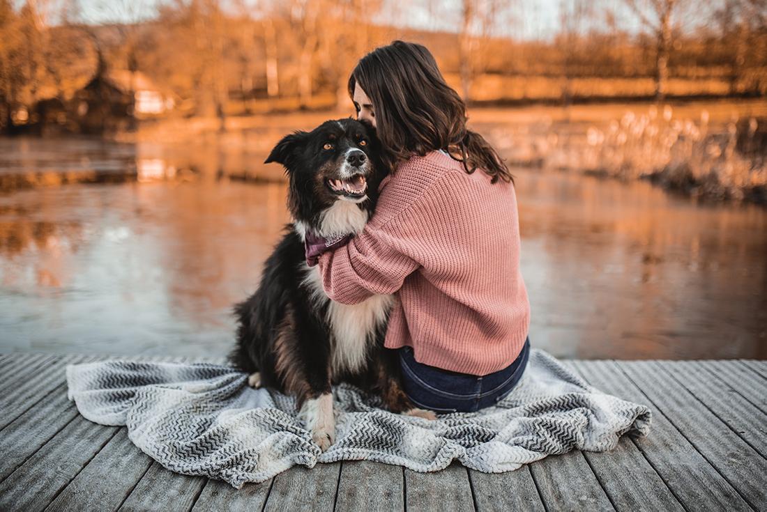 Hunde mit Frauchen