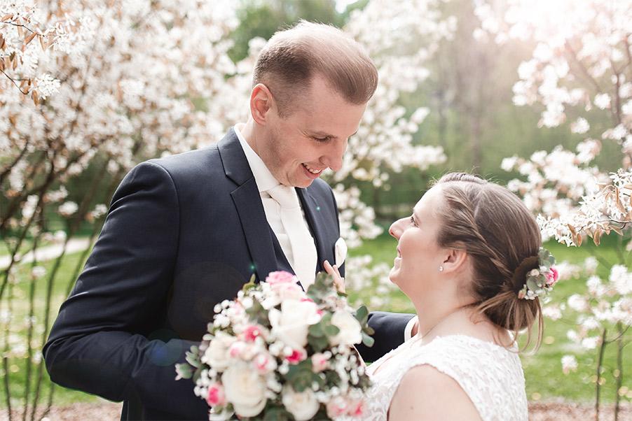 Hochzeitsfoto Blüten